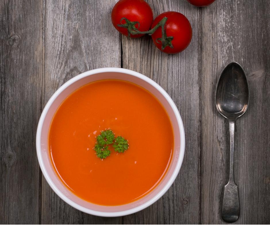 tomat suppe planteaederne