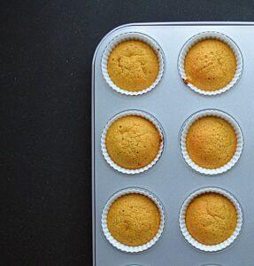 veganske græskar muffins