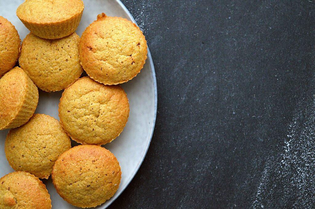 opskrift på vegansk græskar muffins