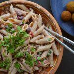 vegansk pastasalat opskrift