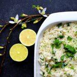 ris med lime og koriander