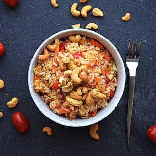 ris og rød karry