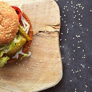 vegansk burger bøf