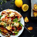 vegansk cæsarsalat