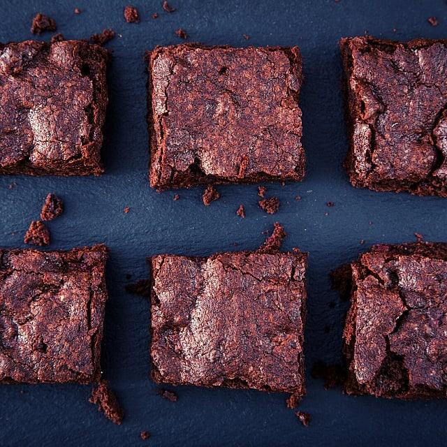 vegansk brownie