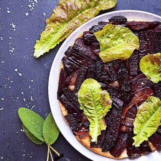 vegansk rødbede tarte tatin opskrift
